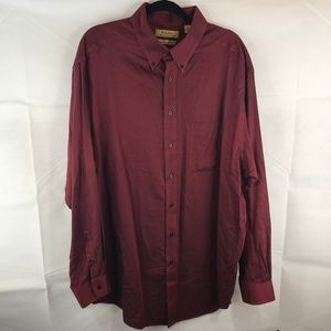 Roundtree & Yorke Gold Label Button Down 2XT 2XLT